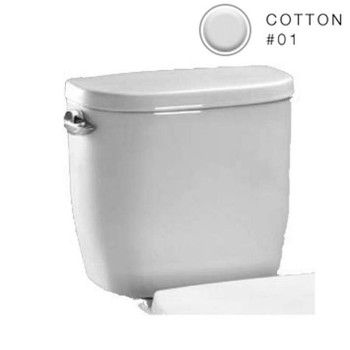 Picture of TOTO ST243E-01 Top Mount Toilet Tank Cotton White