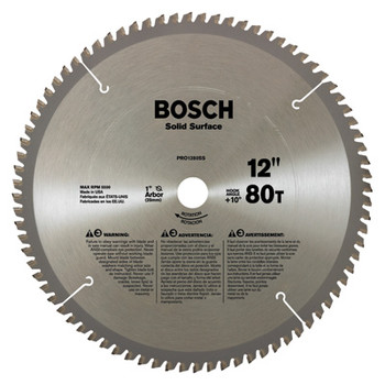 Bosch PRO1280SS 12-in 80-Tooth Steel Cutting Specialty Saw Blade at Sears.com