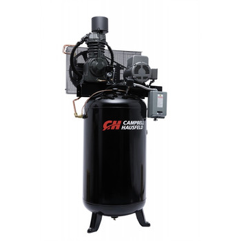 Campbell Hausfeld CE7000FP 7.5 HP Two-Stage 80 Gallon Oil-Lube Fully Packaged Stationary Vertical Air Compressor at Sears.com