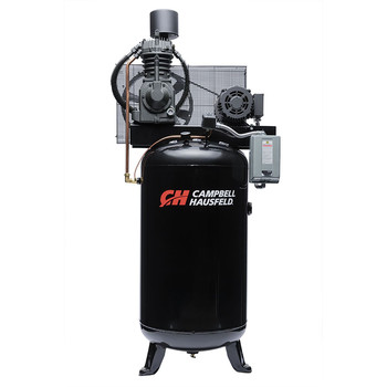 Campbell Hausfeld CE7001 7.5 HP Two-Stage 80 Gallon Oil-Lube 3 Phase Stationary Vertical Air Compressor at Sears.com