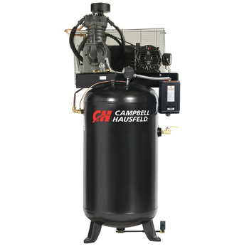 Campbell Hausfeld CE7051FP 5 HP Two-Stage 80 Gallon Oil-Lube 3 Phase Fully Packaged Stationary Vertical Air Compressor at Sears.com
