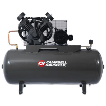 Campbell Hausfeld CE8000 10 HP Two-Stage 120 Gallon Oil-Lube 3 Phase Stationary Horizontal Air Compressor at Sears.com