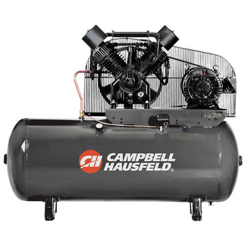 Campbell Hausfeld CE8002 15 HP Two-Stage 120 Gallon Oil-Lube 3 Phase Stationary Horizontal Air Compressor at Sears.com