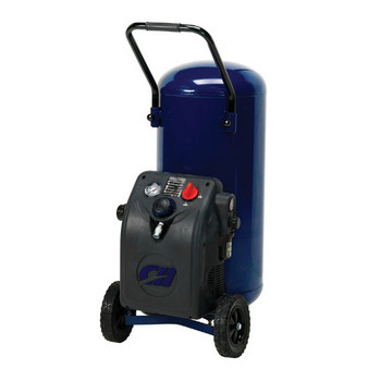 Campbell Hausfeld HU3510 1.2 HP 20 Gallon Oil-Free Wheeled Vertical Air Compressor at Sears.com