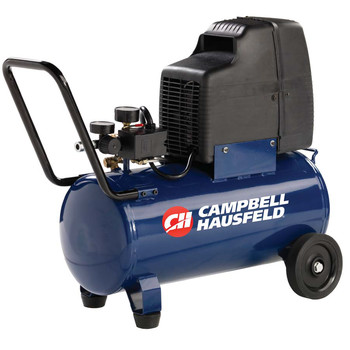 Campbell Hausfeld HU500000AV 1.3 HP 8 Gallon Oil-Free Wheeled Horizontal Air Compressor at Sears.com