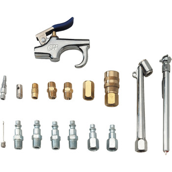 Campbell Hausfeld MP2847 17-Piece 1/4-in Air Tool and Accessory Kit at Sears.com
