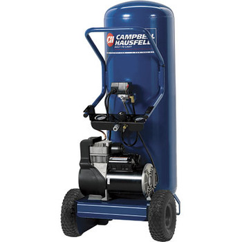 Campbell Hausfeld WL8027 1.8 HP 26 Gallon Oil-Free Wheeled Low-Rider Air Compressor at Sears.com