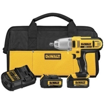 DeWalt DCF889L2 20V MAX Cordless Lithium-Ion 1/2-in High-Torque Impact Wrench with Detent Pin Anvil Kit at Sears.com