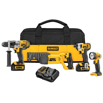 DeWalt DCK492L2 20V MAX Cordless Lithium-Ion Premium 4-Tool Combo Kit at Sears.com
