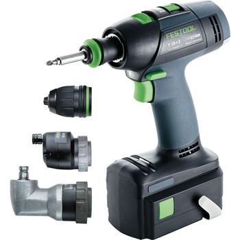 FESTOOL 564397 T18 18V 3.0 Ah Cordless Lithium-Ion Drill Set at Sears.com