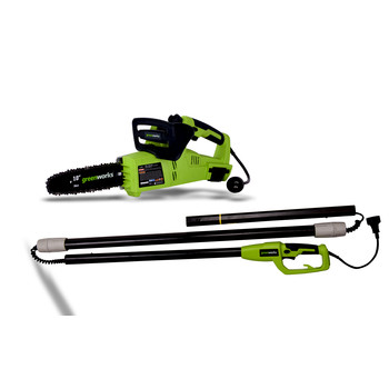 Greenworks 20062 7 Amp 10-in 2-in-1 Electric Pole Saw at Sears.com