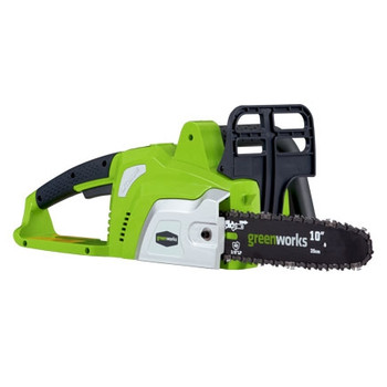 Greenworks 20072 20V Cordless Lithium-Ion 10-in Chain Saw at Sears.com