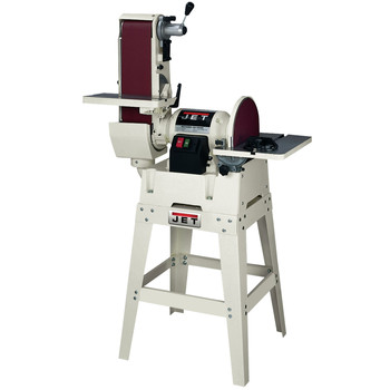 Jet 708599K JSG-6DCK, 6-in x 48-in Belt / 12-in Disc Combination Sander w/ Open Stand at Sears.com