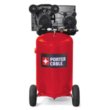 Porter-Cable PXCMLC1683066 1.6 HP Single Stage 30 Gallon Oil-Lube Vertical Portable Air Compressor at Sears.com