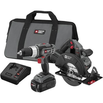 Porter-Cable Factory-Reconditioned PC218C-2R Tradesman 18V Cordless 2-Piece Combo Kit at Sears.com