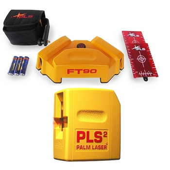 Pacific Laser Systems PLS-60568 FT90 Laser Floor Tile Layout Tool and PLS2 Laser Level Combo Pack at Sears.com