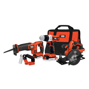 Black & Decker BDCD2204KIT 20V MAX Cordless Lithium-Ion 4-Tool Combo Kit at Sears.com