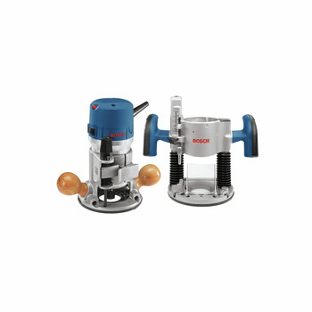 Bosch 1617EVSPK 12 Amp 2.25 HP Combination Plunge and Fixed-Base Router Kit at Sears.com