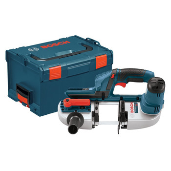 Bosch BSH180BL 18V Band Saw (Bare Tool) with L-Boxx-3 and Exact-Fit Tool Insert Tray at Sears.com