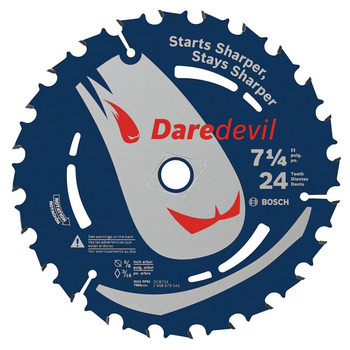 Bosch DCB724B3 Daredevil 7-1/4 in. 24 Tooth Circular Saw Blade 3-Pack at Sears.com