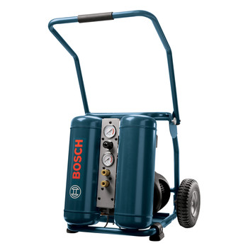 Bosch Factory-Reconditioned CET4-20W-RT 2.0 HP 4 Gallon Oil-Lube Angled Twin Tank Wheeled Air Compressor at Sears.com
