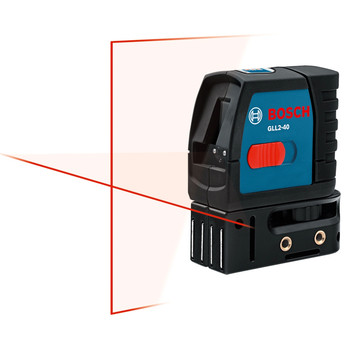 Bosch Factory-Reconditioned GLL2-40-RT Self-Leveling Cross-Line Laser at Sears.com