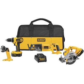 DeWalt DC4CKITA 18V Cordless 4-Tool Combo Kit at Sears.com