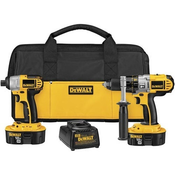 DeWalt DCK255X XRP 18V Cordless 1/2 in. Hammer Drill and Impact Driver Combo Kit at Sears.com
