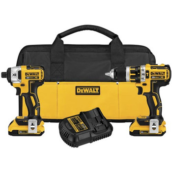 DeWalt DCK286D2 20V MAX XR Lithium-Ion Brushless Compact Drill/Driver & Impact Driver Combo Kit at Sears.com