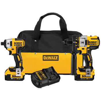 DeWalt DCK296M2 20V MAX Cordless Li-Ion Hammer Drill and Impact Driver Combo Kit at Sears.com