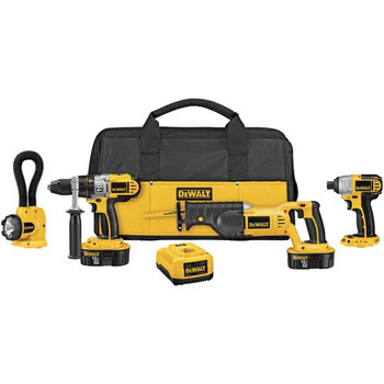 DeWalt DCK455X XRP 18V Cordless 4-Tool Combo Kit at Sears.com