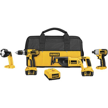 DeWalt DCK465L XRP 18V Cordless Lithium-Ion 4-Tool Combo Kit at Sears.com