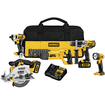 DeWalt DCK592L2 20V MAX Cordless Lithium-Ion 5-Tool Premium Combo Kit at Sears.com