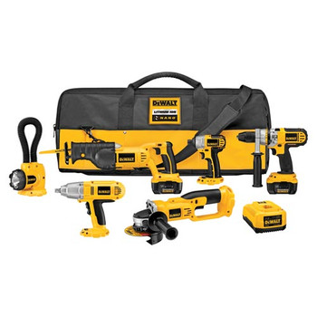 DeWalt DCK675L XRP 18V Cordless Lithium-Ion 6-Tool Combo Kit at Sears.com