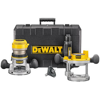 DeWalt DW616PK 1-3/4 HP Fixed Base & Plunge Router Combo Kit at Sears.com