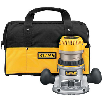 DeWalt DW618K 2-1/4 HP EVS Fixed Base Router Kit at Sears.com