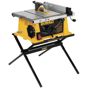 DeWalt DW744X 10 in. Portable Table Saw w/ Folding Stand at Sears.com