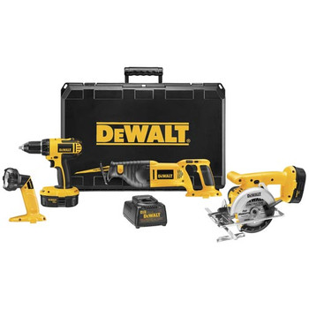DeWalt Factory-Reconditioned DC4CKITAR 18V Cordless 4-Tool Combo Kit at Sears.com