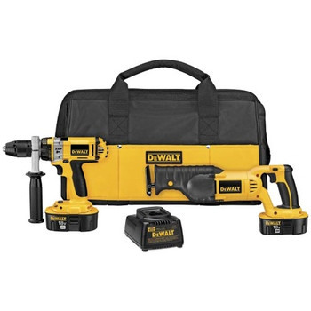 DeWalt Factory-Reconditioned DCK241XR XRP 18V Cordless 1/2 in. Hammer Drill and Recip Saw Combo Kit at Sears.com