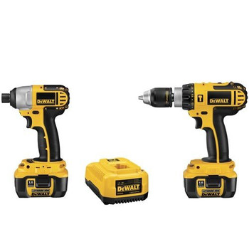 DeWalt Factory-Reconditioned DCK274LR XRP 18V Cordless Lithium-Ion 1/2 in. Compact Hammer Drill and Impact Driver Combo Kit at Sears.com