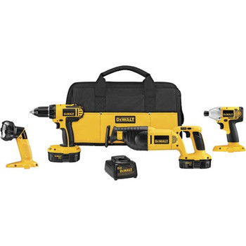 DeWalt Factory-Reconditioned DCK425CR 18V Cordless 4-Tool Compact Combo Kit at Sears.com