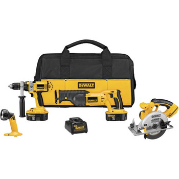 DeWalt Factory-Reconditioned DCK440XR XRP 18V Cordless 4-Tool Combo Kit at Sears.com