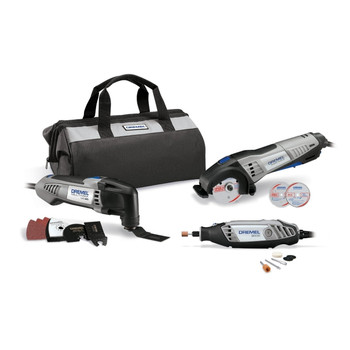 Dremel CKDR-02 Ultimate 3-Tool Combo Kit w/ 15 Accessories and Soft Case at Sears.com