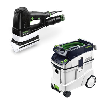 FESTOOL P48567852 LS 130 EQ Linear Sander + CT 48 E 12.7 Gallon HEPA Dust Extractor at Sears.com