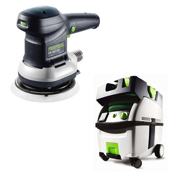 FESTOOL PI571903 ETS 150/3 EQ 6 in. Random Orbit Sander + CT MIDI HEPA 3.3 Gallon Mobile Dust Extractor at Sears.com