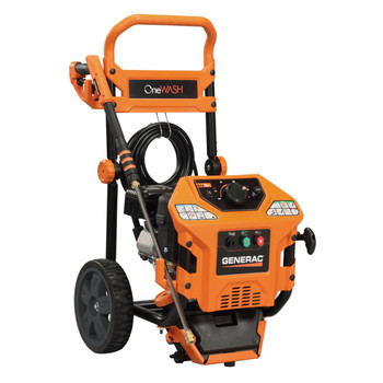 Generac 6412 3,000 PSI 2.8 GPM OneWash 4-in-1 Gas Pressure Washer at Sears.com