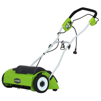 Greenworks 27022 10 Amp 14 in. Electric Dethatcher at Sears.com