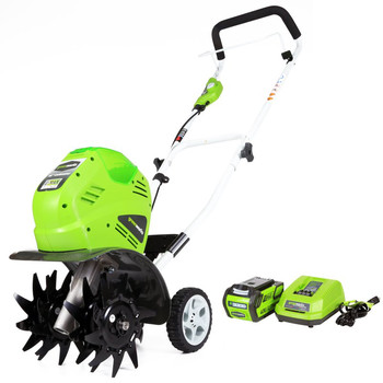 Greenworks 27062 40V G-MAX Cordless Lithium-Ion 10 in. Cultivator at Sears.com