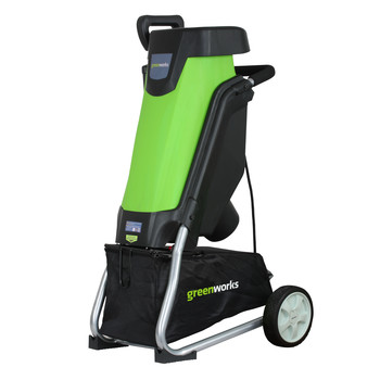 Greenworks Factory-Reconditioned 24052-RC 15 Amp Electric Yard Chipper at Sears.com