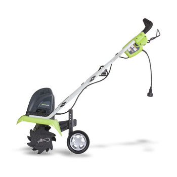 Greenworks Factory-Reconditioned 27012-RC 10 in. 8 Amp Electric Cultivator at Sears.com
